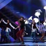 Florin Ristei în punctul culminant al interpretărilor solo din semifinala X Factor