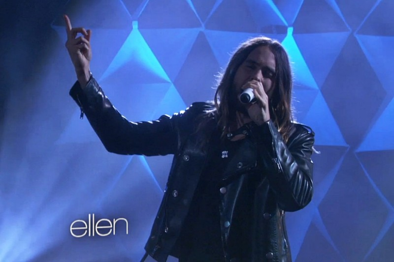 30 Seconds To Mars live la Ellen