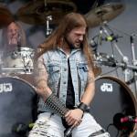 Stu Block, solistul Iced Earth în concert.