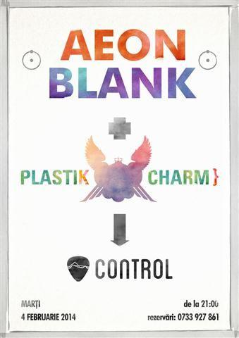 Aeon Blank & Plastik Charm