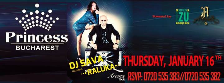 DJ Sava & Raluka la Princess Club
