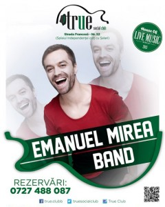 afis-Emanuel-Mirea-Band-concert-true-club-bucuresti