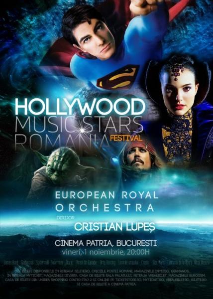 Hollywood Music Star România la Cinema Patria