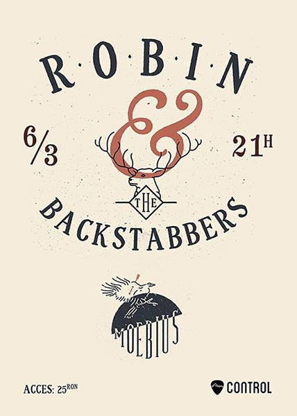 afis-Robin-and-the Backstabbers-concert-club-control-bucuresti-3-martie-2014