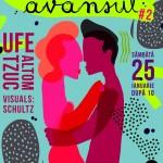 Afis petrecere Dansi si Avansul 2 in Colectiv pe 25 ianuarie 2014