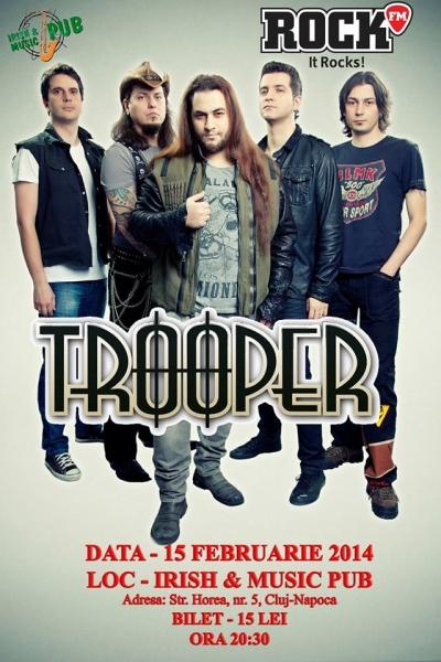 Trooper la Irish & Music Pub