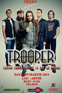 afis-trooper-concert-abyss-pub-oradea-18-martie-2014