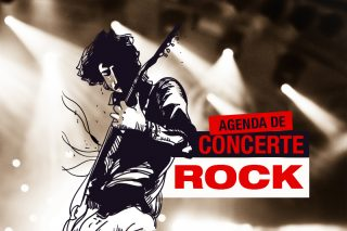 Agenda de concerte rock în România