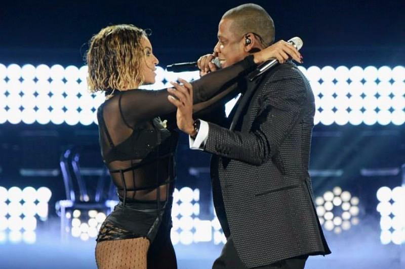 Beyonce și Jay-Z la Grammy Awards 2014Beyonce și Jay-Z la Grammy Awards 2014