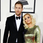 Rita Ora și Calvin Harris la Grammy Awards 2014
