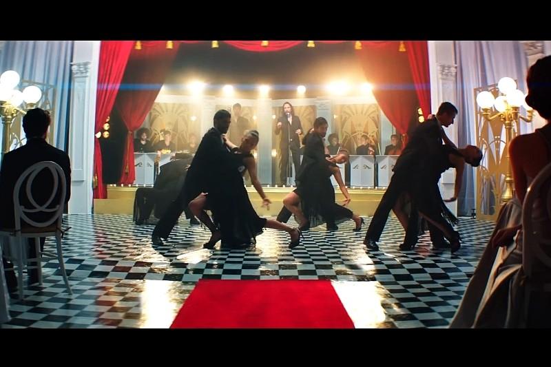 Secvență videoclip Enrique Iglesias -