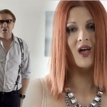 """Gabriel Cotabiță și Oana Vincu într-o secvență din videoclipul """"Patul Gol"""""""