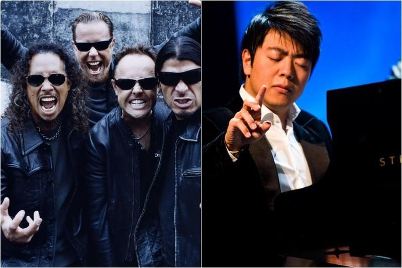Grammy 2014: Metallica va cânta cu pianistul chinez Lang Lang