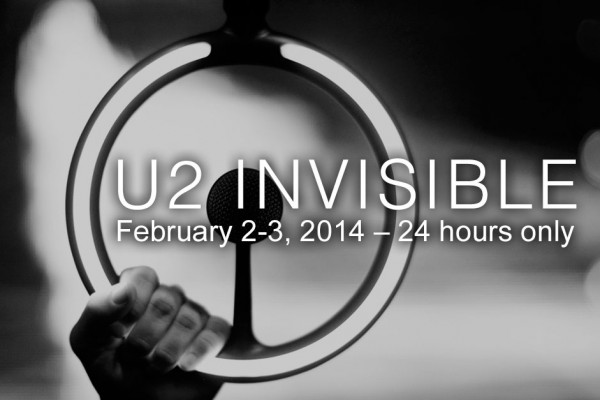 """Noul single U2 - """"Invisible"""" va fi gratuit pe iTunes pe 2 februarie 2014"""
