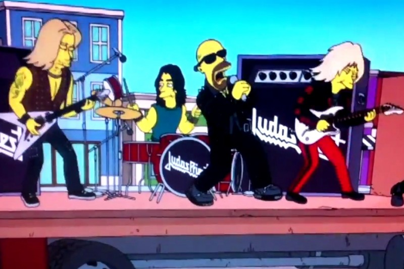Judas Priest în The Simpsons