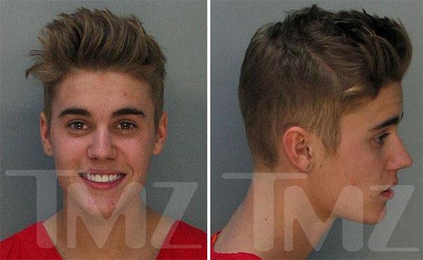 Justin Bieber arestat