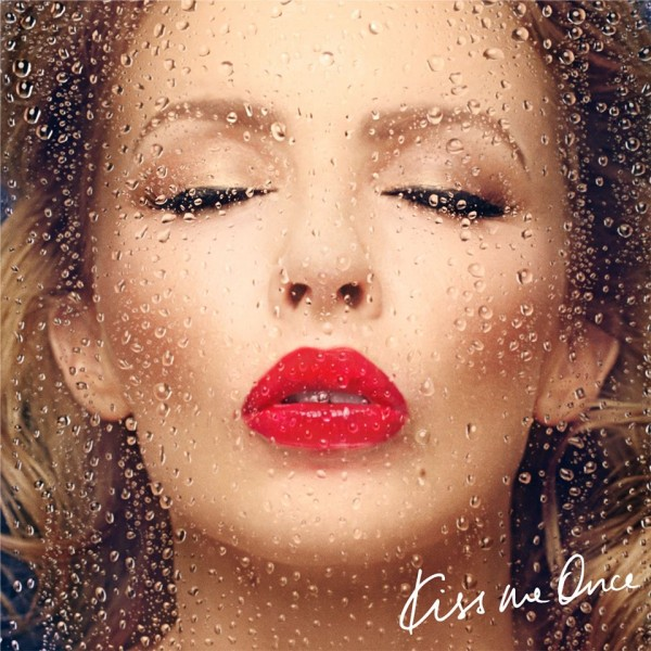 "Kylie Minogue - ""Kiss Me Once"" Artwork"