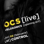 Poster concert Omul cu șobolani in club Control din București pe 6 februarie 2014