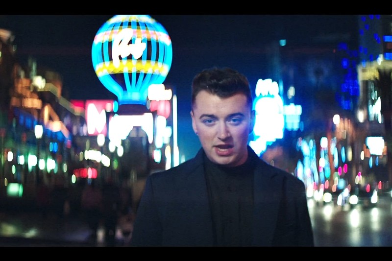 Secvență videoclip Sam Smith -