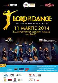 Lord of The Dance timisoara