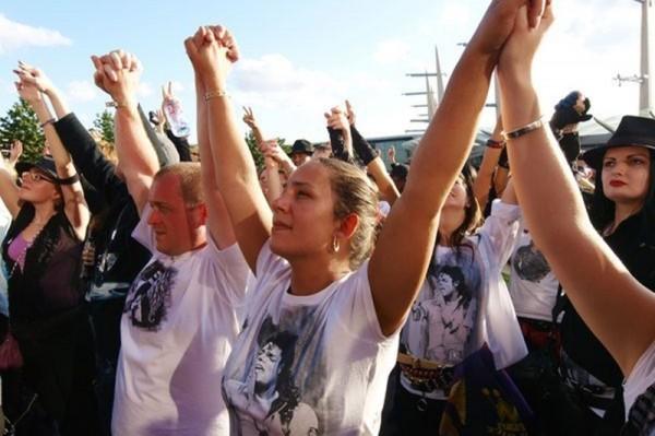 Fanii lui Michael Jackson