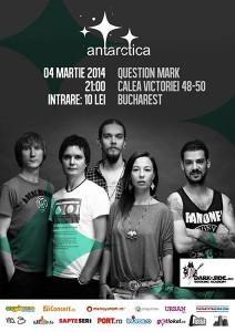 afis-Antarctica-concert-Question-Mark-bucuresti-4martiee-2014