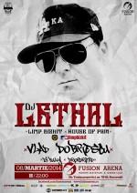 afis-Dj-Lethal-concert-fusion-arena-bucuresti-8-martie-2014