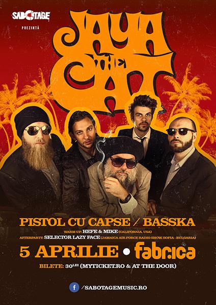 afis-Jaya-the-Cat-concert-club-fabrica-bucuresti-5-aprilie-2014