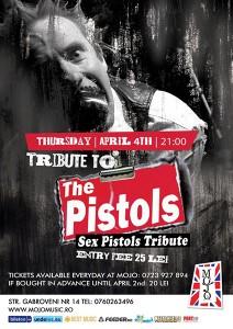 afis-The-Pistols-concert-club-mojo-bucuresti-4-aprilie-2014