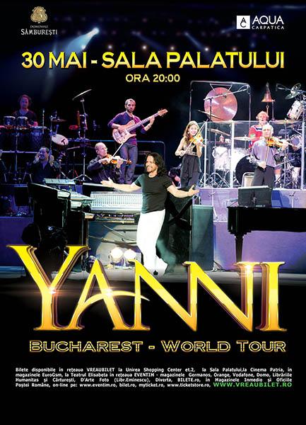 Yanni la Sala Palatului