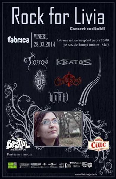Concert pentru Livia Beju