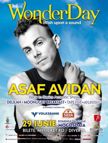 Poster eveniment WonderDay cu Asaf Avidan