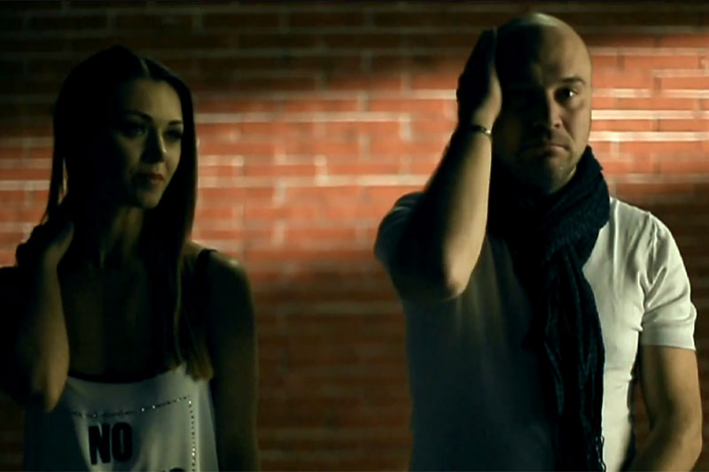 Secvență din videoclipul