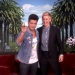 Bruno Mars, discurs motivațional la Ellen