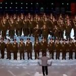"""Corul Poliției din Rusia au interpretat """"Get Lucky"""" (Daft Punk) la ceremonia de deschidere a Jocurilor Olimpice de Iarnă de la Soci"""