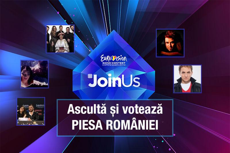 Sondaj: Voteaza piesa Romaniei la Eurovision 2014