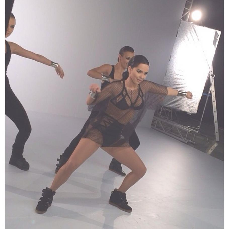 """Filmarea clipului Inna - """"Good Time"""" feat. Pitbull"""