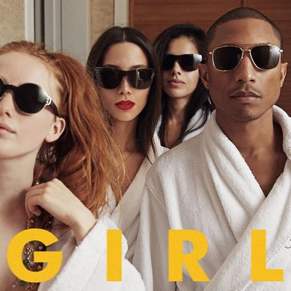 "Pharrell Williams - ""G I R L"" Artwork"