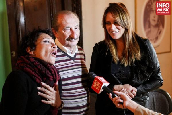 Franco Gatti și Angela Brambati (Ricchi e Poveri) la Bucuresti pe 26 februarie 2014