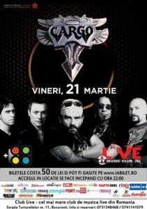 Concert-Cargo-pe-21-martie-club-live