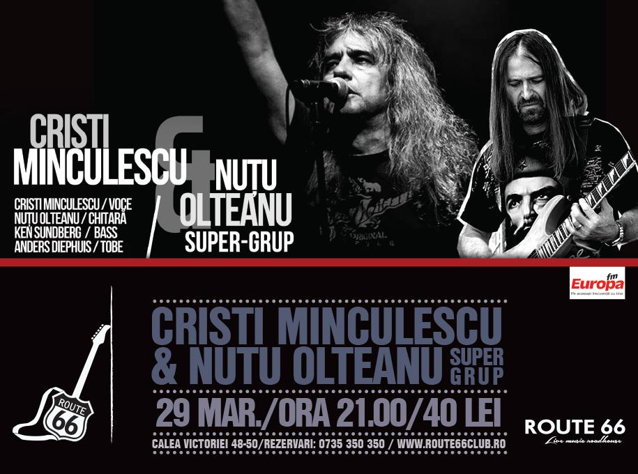 Cristi Minculescu uțu Olteanu route 66 bucuresti