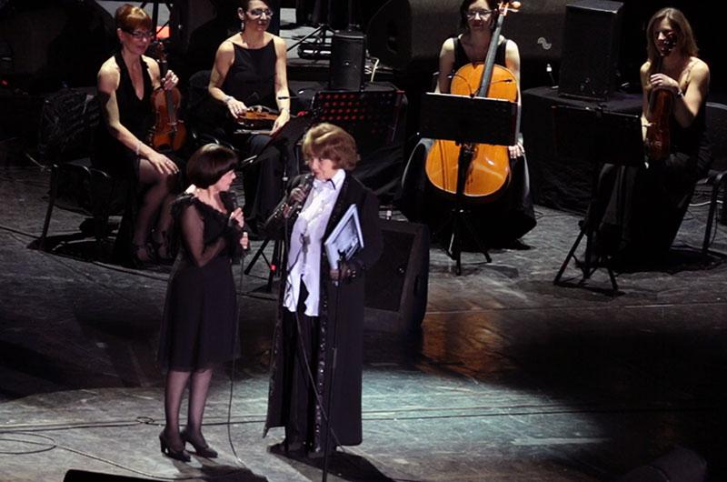 Margareta Pâslaru și Mireille Mathieu