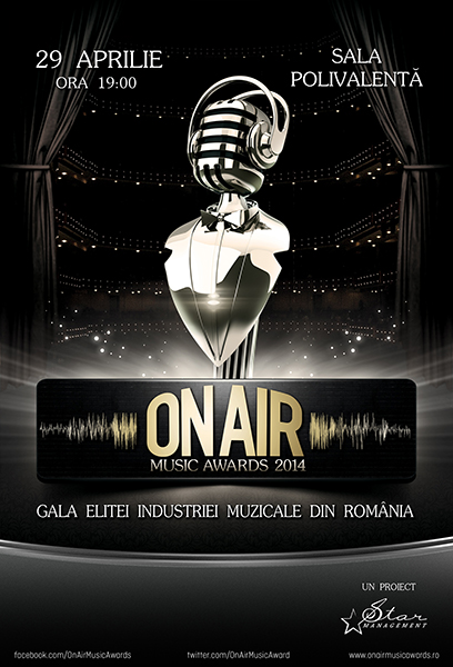 ANULAT - On Air Music Awards 2014 la Sala Polivalentă