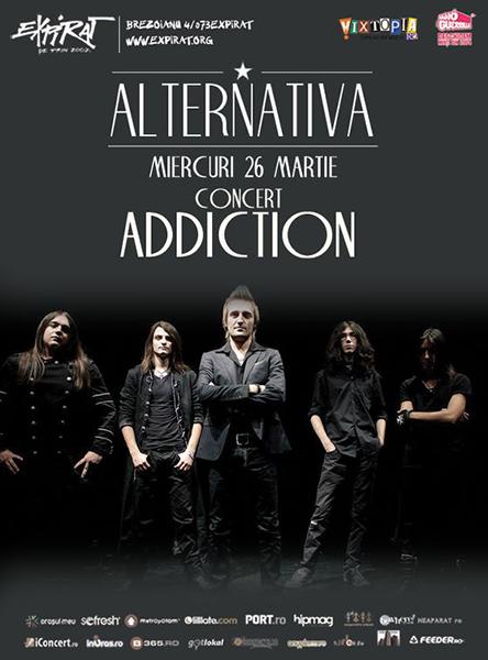 afis-Addiction-concert-club-expirat-Bucuresti-26-martie-2014