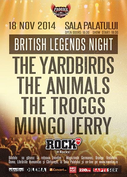 ANULAT - British Legends Night