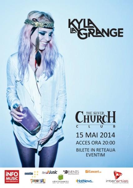 afis-Kyla-La-Grange-concert-the-silver-church-bucuresti-15-mai-2014