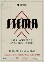 afis-Stema-concert-club-control-Bucuresti-18-martie-2014