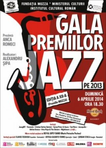 afis-gala-premiilor-jazz-concert-hard-rock-cafe-Bucuresti-6-aprilie-2014