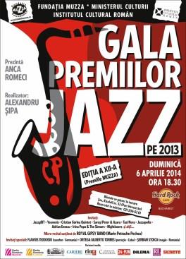 Gala Premiilor Jazz 2013 la Hard Rock Cafe