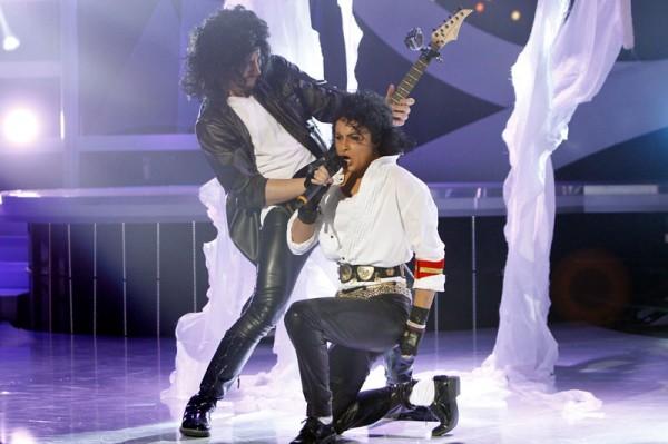Raluka s-a transformat în Michael Jackson la Te cunosc de undeva